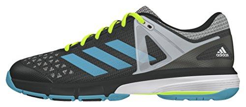 adidas Damen Court Stabil 13 Handballschuhe, Grau (DGH Solid Grey/Vapour Blue/White), 39 1/3 EU