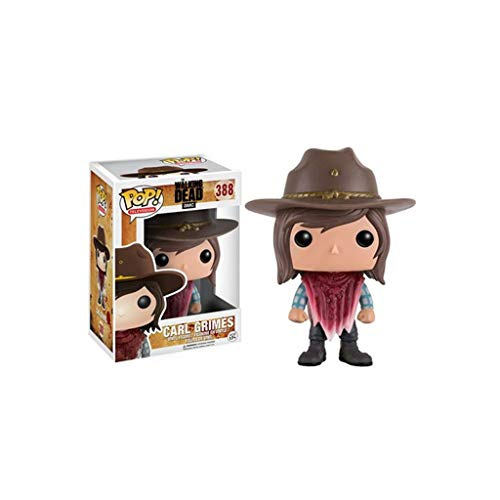 Lxyy YF Pop TV: The Walking Dead -Carl Vinyl Figure e Exquisite Box Collection vetrina Decorativa Giocattoli Popolari Personaggi 3,9 Pollici