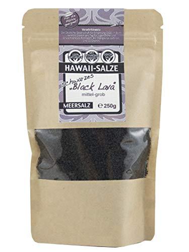 direct&friendly Hawaiisalz schwarz Hawaii Salz grob im wiederverschließbaren Doypack (250g schwarz)