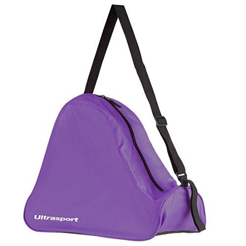 Ultrasport Inliner Tasche, 26 Liter, leichte Skate Bag für Rollschuhe und Inliner, groß, auch als Schlittschuhtasche geeignet, Lila