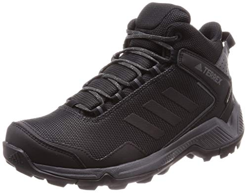 adidas Herren Terrex Eastrail Mid GTX Walking Shoe, Carbon/Core Black/Grey, 44 EU