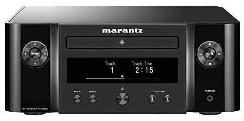 Marantz M-CR612 Network CD Receiver (2019 Model) | Wi-Fi, Bluetooth, AirPlay 2 and Heos Connectivity | AM/FM Tuner, CD Player, Unlimited Music Streaming | Compatible with Amazon Alexa | Black