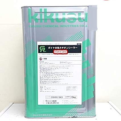 菊水化学工業 ガイナ水性カチオンシーラー ホワイト 15kg