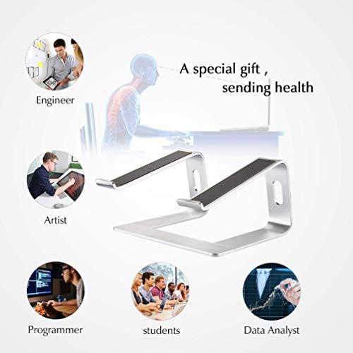 Sentao Laptopständer, Demontierbar mit Belüftung, Tragbarer Notebook Ständer Kompatibel mit Laptop MacBook Pro/Air, HP, Dell, Lenovo, Samsung, Acer, Huawei MateBook