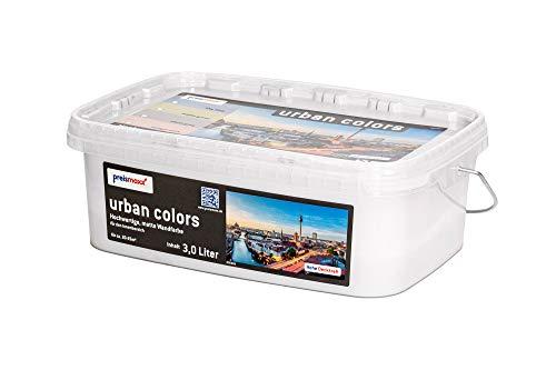 preismaxx urban colors Bunte Wandfarbegrau stone grey 3 Liter matt für Innen
