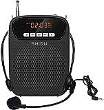 Altaveu amplificador de veu amb micròfon portàtil, 15W mini *voice *amplifier sistema de megafonia amb cable d'altaveu personal i micròfon secundo USB/*TF/MP3/FM *Bluetooth per a professors etc