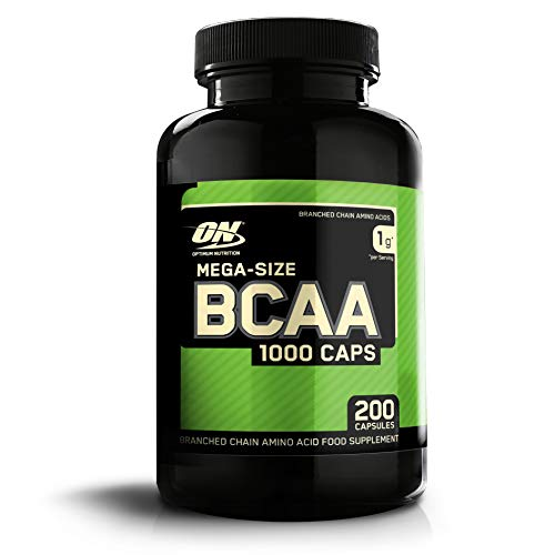Optimum Nutrition Bcaa 1077453 Amminoacidi Ramificati in Polvere con L-Leucina, L-Isoleucina e L-Valina - 200 Capsule