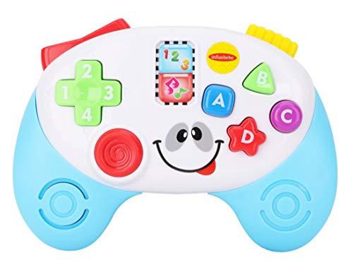 Toyland® My 1st Learning Controller - Contrôleur de Jeux bilingues Anglais et Espagnol pour bébé - 30+ Effets sonores - Jouets bébé - 6m +