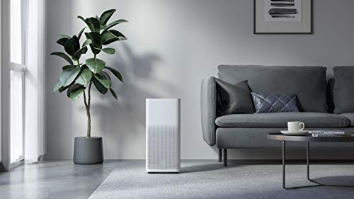 Xiaomi Mi Air Purifier 2H EU version - Purificador de aire, conexin WiFi, para estancias hasta 31m2, 260m3/h, color blanco