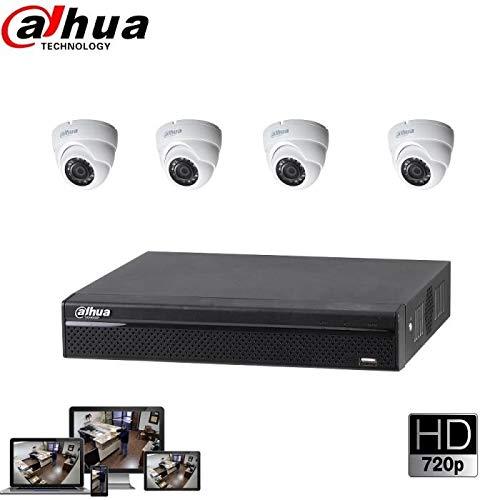 Kit de cámara HDCVI DAHUA – 4 DOM 1080P HDW1200RP-VF / XVR5104H / HDD 2 TB