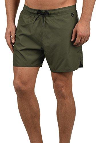 Blend Balderius Costume da Bagno Costume Piscina Calzoncini da Uomo, Taglia:XL, Colore:Dusty Green (70595)