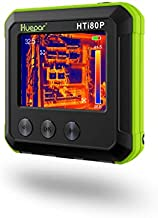 Pocket-Sized IR Thermal Imager, Huepar 80 x 60 Infrared Resolution Thermal Imaging Camera Measurement Range 14°F~752°F with 76800 Pixels Display, Temperature Tracking & Adjustable Emissivity HTi80P