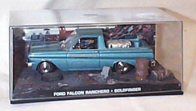 James bond 007 ford falcon ranchero goldfinger film scena scala 1:43 modellino pressofuso