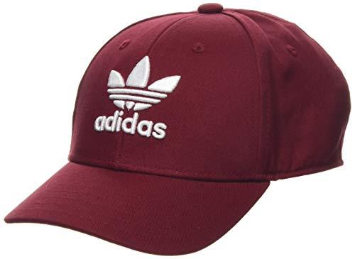 adidas Trefoil Baseball Aut Gorra, Unisex Adulto, Rojo (Collegiate Burgundy/White), OSFM
