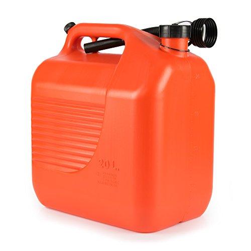 Benzin Kanister, Tankkanister, Kanister, Benzinkanister, Motorradtank, Autokanister, Sprit, 20 Liter, RACEFOXX