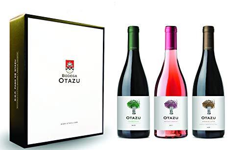 Pack de 3 botellas. Gama Otazu