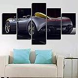 Yuanjun Pegatinas De Pared Nuevo 5 Piezas/Sets Lienzo Pinturas Sobre Lienzo Hd Tela Cartel150X80Cm Xxl Monza Sp1 Super Racing Car Concept