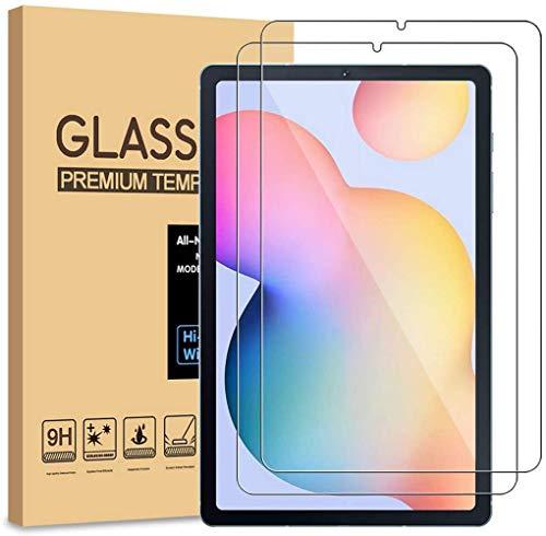 [2 Stück] Schutzfolie für Samsung Tab A 10.1 Zoll 2019, SM-T510/T515 Bildschirmschutzfolie Screen Protector 9H Festigkeit Anti-Kratzen Ultra Clear, Panzerglas Schutzfolie für Samsung Galaxy Tab A 10.1''