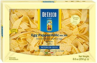 De Cecco Pasta, Egg Pappardelle, 8.8 Ounce (B0095F92HS)   Amazon price tracker / tracking, Amazon price history charts, Amazon price watches, Amazon price drop alerts