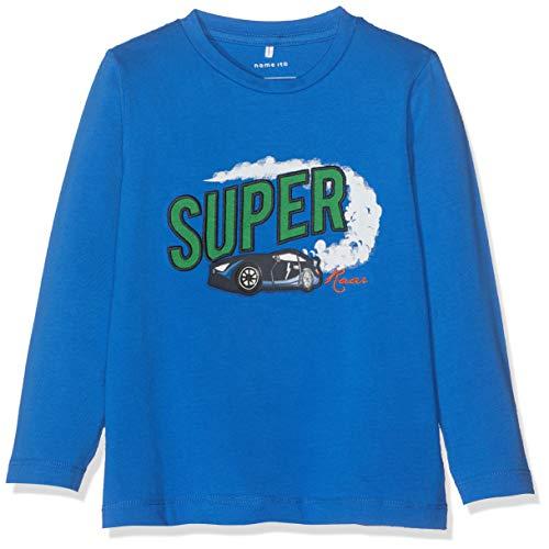 Name It Nmmtaken Ls Top T-Shirt À Manches Longues, Multicolore, 98 (Taille Fabricant:) Bébé garçon