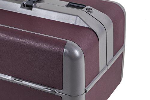 Durasol IDEAL 2233, Arztkoffer Medizinsche Ausrüstung Tasche, Boredaux, echtes Leder, Größe Groß