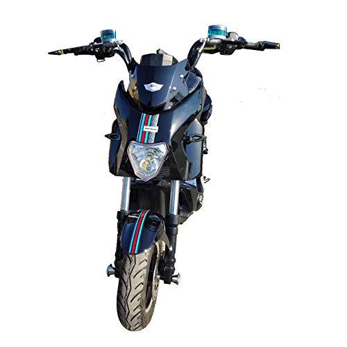 XMIMI Bicicleta eléctrica Motocicleta eléctrica Doble Scooter eléctrico Modificado de Alta Potencia Bicicleta eléctrica para Adultos