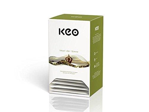 Keo Tee - INSEL DER SINNE - Pyramidenbeutel 20x2,2g