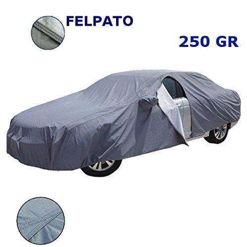 EMMEA Telo Copri Auto Felpato Compatibile con Audi A4 Avant 08  15 COPRIAUTO Cover Impermeabile Anti Strappo Lavabile E AntiGraffio