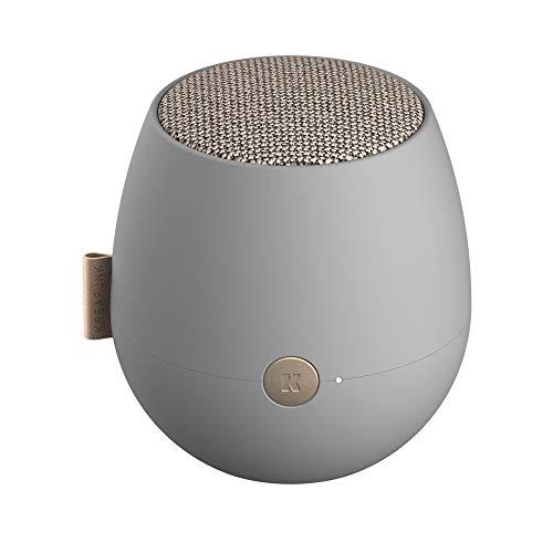 KREAFUNK aJAZZ Eleganter Edler Bluetooth Lautsprecher Dänischen Design TWS True Wireless Stereo (Cool Grey)