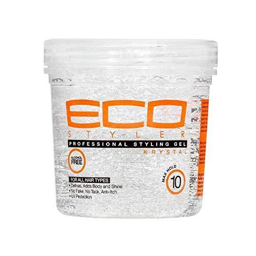 Eco Style Professional Styling Gel Krystal, 8 Ounce