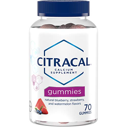 Citracal Calcium +D3 Gummies Assorted Flavors - 70 Ct., Pack of 2