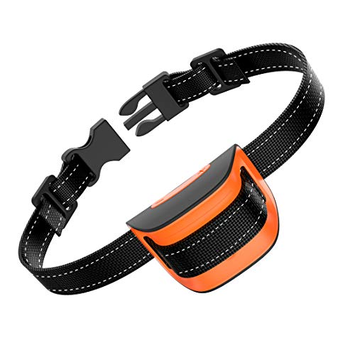 MASBRIL Dog Bark Collar - Upgrade 2020 Safe No Bark Control Device for Tiny Small Medium Dog-Stop Barking by Sound and Vibration- No Shock Human Way-Best Choice for Dog Lovers