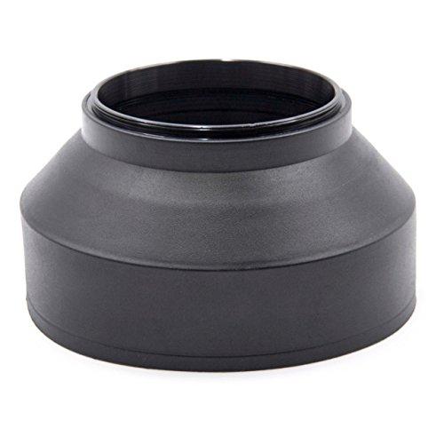 vhbw Gegenlichtblende passend für Tamron 18-250 mm 3.5-6.3 AF Di II LD ASL IF Macro, 18-270 mm F/3.5-6.3 Di II VC PZD Objektiv Gummi 62mm schwarz