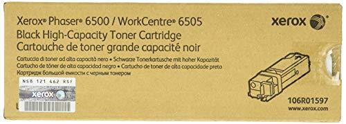 Xerox 106R01597 Phaser 6500, WorkCentre 6505 Tonerkartusche schwarz hohe Kapazität 3.000 Seiten 1er-Pack