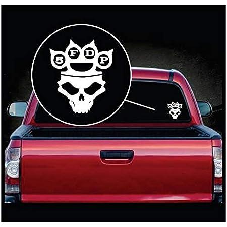 Five Finger Death Punch 5fdp A2 Car Vinyl Decal Laptop Car Truck Bumper Window Sticker Auto