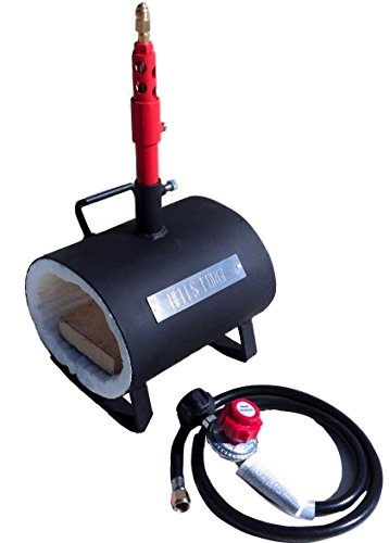 Hell's Forge Portable Propane Forge Single Burner...