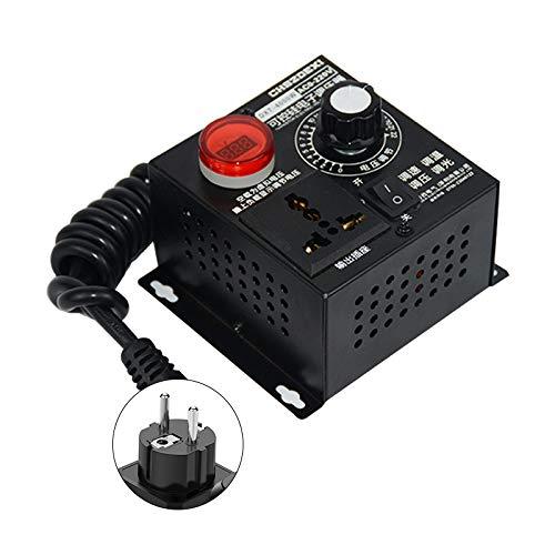 SCR Spannungsregler AC 220V 4000W Elektrischer Spannungsregler Motor Lüfterdrehzahlregler Dimmer Licht Temperatur control Motor Drehzahlregler