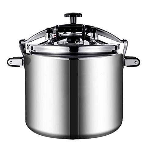 Cocina a prueba de presión Presión a prueba de explosiones Aleación de aluminio Aleación de aluminio Cocina de presión de gran capacidad Adecuada para cocina de inducción de cocina de gas, usado en el