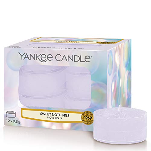 Yankee Candle candeline profumate tea light | Paroline dolci | 12 pezzi