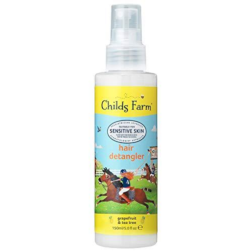 Childs Farm Balsamo spray anti-nodi al pompelmo e olio dell'albero del tè biologico, 150ml