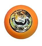 Lollipop Lures Zoka Ball, Kabura jig, cebo vivo, Zoka, pesca en barco, naranja luminoso, ojos sepia, 110g