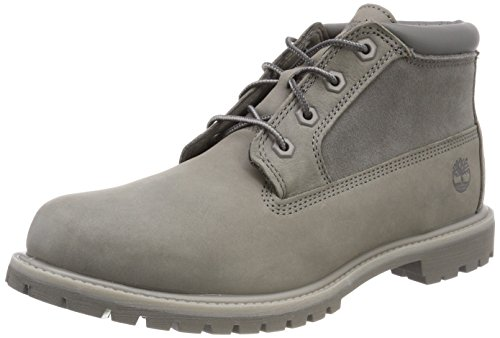 Timberland Damen Nellie Leather Suede Chukka Boots, Grau (Steeple Grey), 37 EU