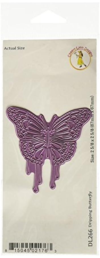 Cheery Lynn Designs DL266 Dripping Butterfly Die Cut