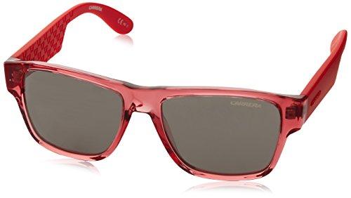 Carrera Junior Carrera Junior Unisex-Kinder Carrerino 15 Ss Knv 48 Sonnenbrille, Rot (Trnsp Red/Grey Sp Silver)