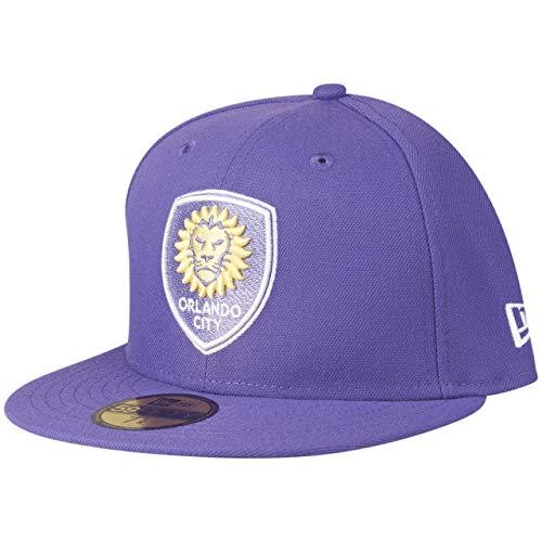 New Era 59Fifty MLS Orlando City - Gorra, color morado morado XXX-Large