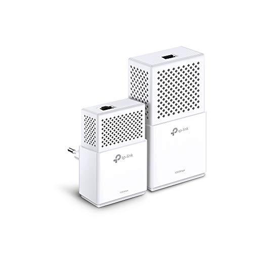 TP-Link TL-WPA7510 - KIT de Adaptadores Powerline Gigabit AV1000 Cobertura Internet, Línea...