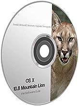Mac OS X Mountain Lion 10.8 Boot DVD Install Reinstall Recovery Upgrade Downgrade