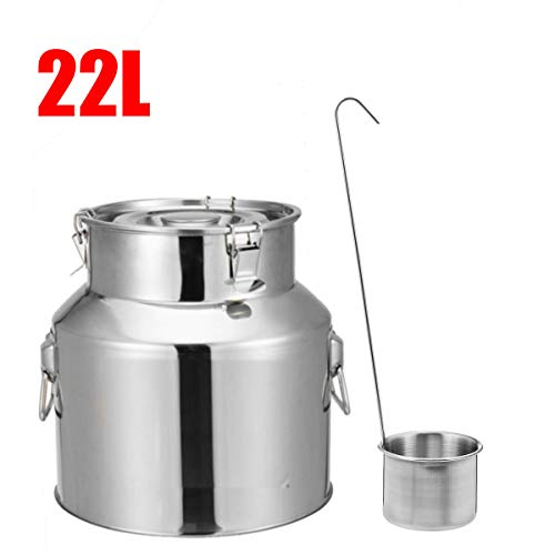 TuToy 22L 28L 35L roestvrij stalen barrel drum wijnbier whiskey Rum Port Keg Kegerators Milk Rice Storage, 1, 1