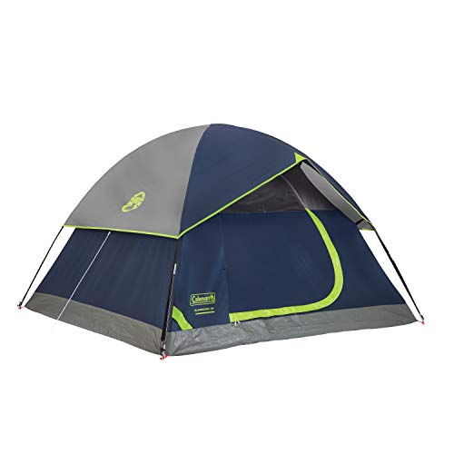 Coleman 8-Person Red Canyon Tent, Blue