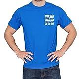 The Office Michael Scott's Fun Run Race Blue T-Shirt Tee, X-Large